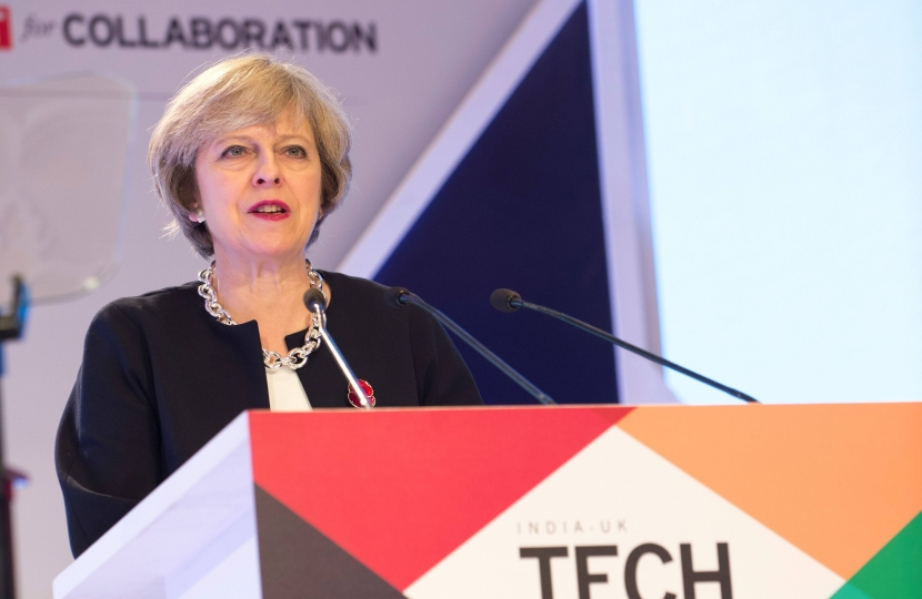 The Prime Minister, The Rt. Hon. Theresa May MP